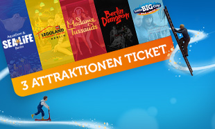 3 Attraktionen Ticket Little BIG City Berlin